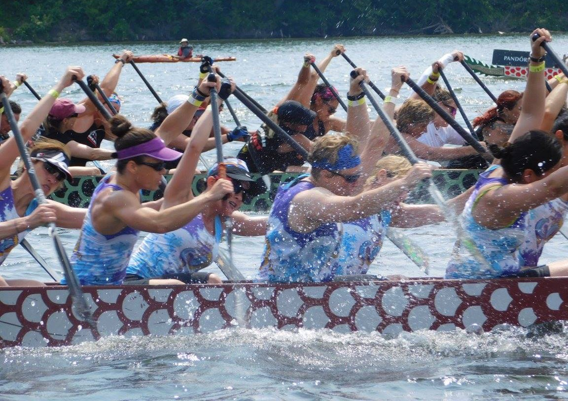 Schuylkill Dragons womens dragon boat team Philadelphia