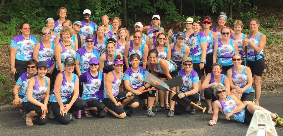 Schuylkill Dragons womens dragon boat team Philadelphia 2016